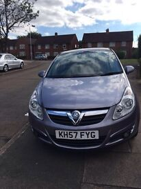 QUICK SALE CORSA ONE YEAR MOT LOW MILEAGE