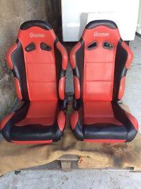 Two bucket seats £150 Ono