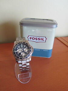 Fossil Blue Men's Chronograph Kitchener / Waterloo Kitchener Area image 1