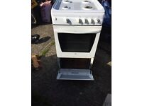 Indesit gas oven.