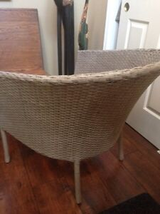 Beautiful Patio WICKER CHAIR, needs cushion, only $15