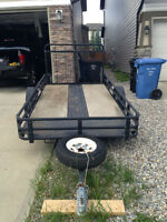 5.5 ft x 10 ft Utility Landscape, Motorcycle etc. Trailer