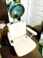 Hairdresser Dryer with chair