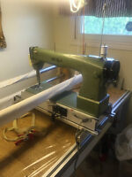 Long arm quilting machine for sale.