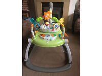Fisher Price Space saving jumperoo/jumper