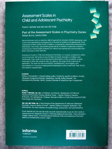 Assessment Scales in Child and Adolescent Psychiatry (medicine) London Ontario image 2
