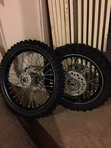 KTM 85sx Excel wheels