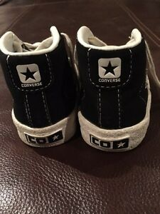 One star converse high tops with laces - size 6 Kitchener / Waterloo Kitchener Area image 3