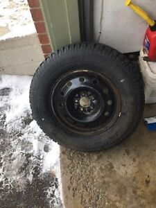 235 70 16 total terrain snows on steel Escape rims