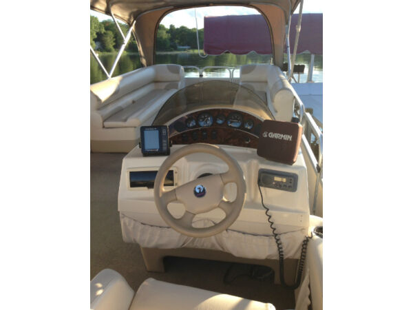 Used 2002 Other Pontoon Fabritech - Model Crown - 25 feet - Mercur