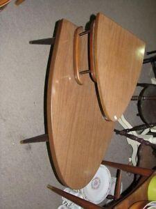 table de salon rétro en formica antique