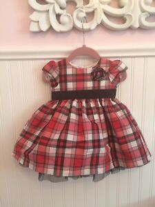 Christmas dress worn once size 6 months