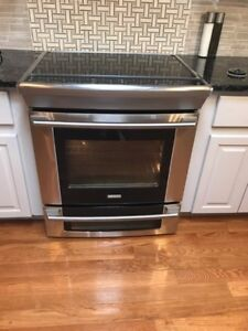 Electrolux double oven stove
