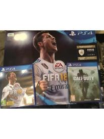 PS4 (Fifa 18 & COD 4) BASICALLY BRAND NEW