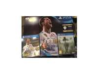 PS4 (Fifa 18 & COD 4) BASICALLY BRAND NEW