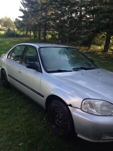 2000 honda civic 5spd sell or trade
