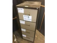 25 matching filing cabinets.