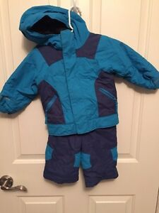 Two Boys Columbia two piece snowsuits. GUC.