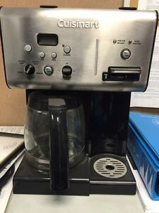 Cuisinart CHW-12 Coffee Plus Coffeemaker with Hot Water System