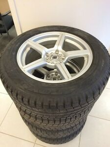 235/60/R17 Toyo Observe GS15 tires and rims