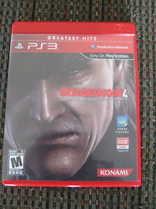 PS3 Metal Gear Solid 4 Guns of the Patriots game