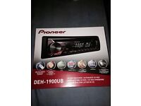 pioneer digital radio DEH 1900UB