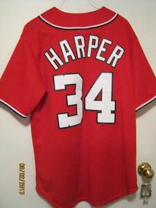 NEW, MLB - WASHINGTON NATIONAL'S - BRYCE HARPER JERSEY