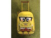 Brand new spongbob trolley bag