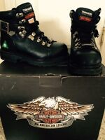 Women size 6 Harley Davidson Work Boots (CSA approved)