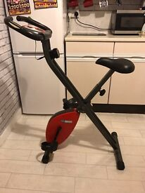 Digital folding exercise bike