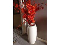 Flower decoration (tall vase)