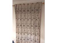 Curtains x 2