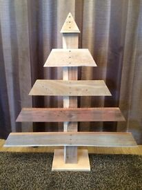 Rustic pallet Christmas tree