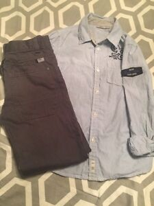Boys shirt and pants size 9-10 mexx