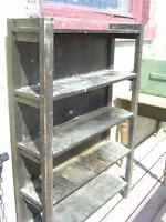 1920s SOLID OAK ARTS & CRAFTS MISSION STYLE BOOKCASE $60