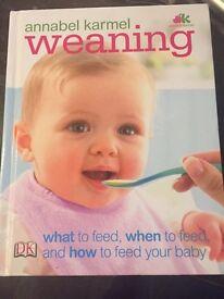 Annabel Karmel weaning book +food trays