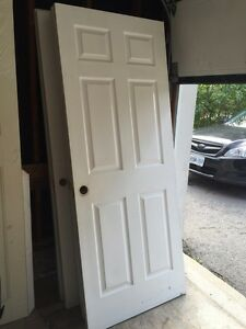"X5 Solid wood 6 panel interior doors (24""/30""/32"")"