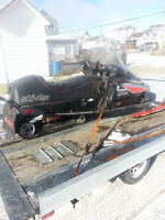 parting out 1992 skidoo mach 1