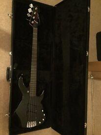 Former Bullet for my valentine bassist jay james sandberg panther bass guitar