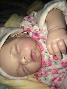 Brand new handcrafted and painted Reborn Doll