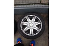 "16"" seat 5 stud alloys"