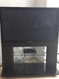 "Panasonic 42"" Viera TV with stand"