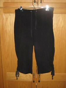 Black Capri Pant Size Medium