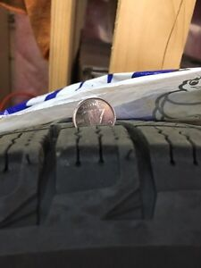 Michelin X Ice Tires on 15 inch rims