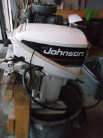 9.9 HP Johnson Outboard Motor
