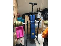 Weight and bench