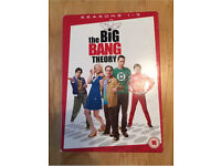 Big bang theory box set seasons 1-3 dvd