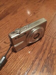 Olympus 12mp stainless steel digital camera