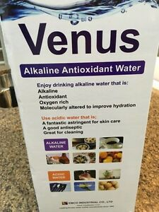 venus alkaline antioxidant water ionizer + filtration system Strathcona County Edmonton Area image 1