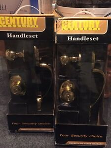 2 complete never opened handle sets